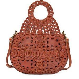 Patricia Nash Ticci Leather Shoulder/tote bag